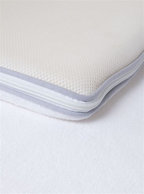 Single Bed Memory Foam Mattress Topper Single All Seasons Air Relax And Polar Fleece Memory Foam Mattress Topper Cover Ebay