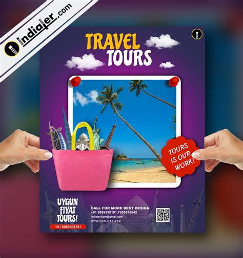 Tour Flyer Template Psd