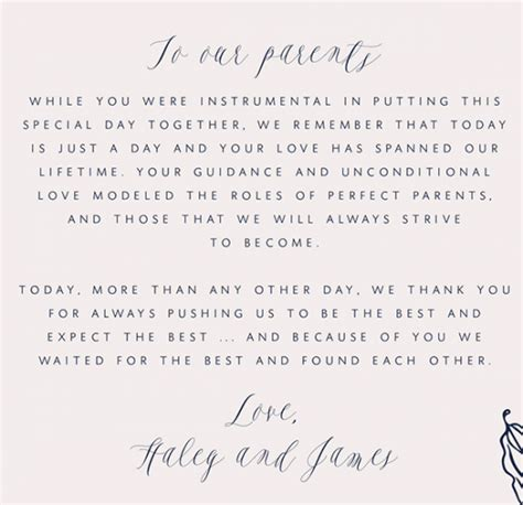 thank you letter after wedding for parents how to write a thank you letter to your parents