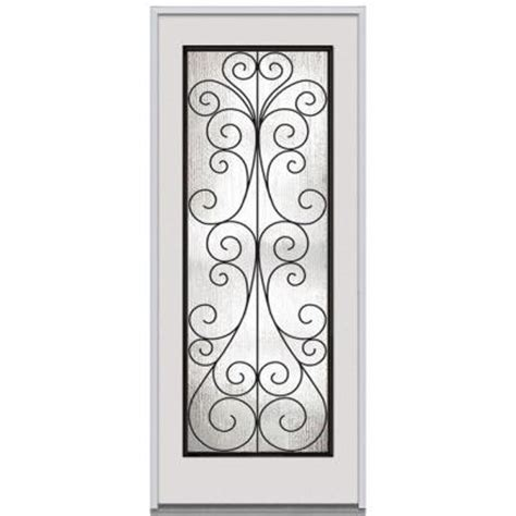 Decorative Replacement Glass For Front Door by Milliken Millwork 36 In X 80 In Camelia Decorative Glass
