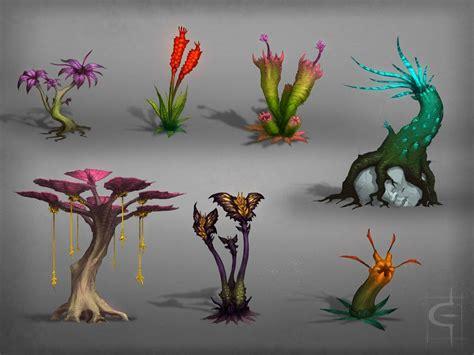 design flower game xenobotany by corndoggy on deviantart plants