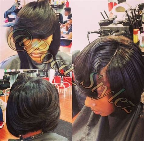 sew in bob w invisible part cute my style i hair sew bob sew in and bobs on pinterest
