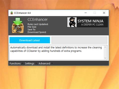 ccleaner enhancer ccleaner enhancer download techtudo