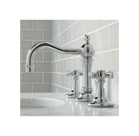 restoration hardware bathroom faucets vintage 8 quot widespread faucet set faucets restoration