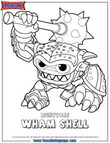 skylander coloring pages free coloring pages of skylanders warnado