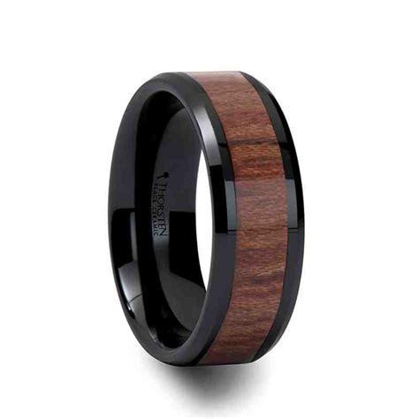 Black Titanium Ring Wedding black titanium wedding rings wedding and bridal inspiration