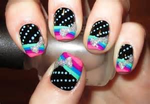 colorful nail designs colorful nails nail designs picture