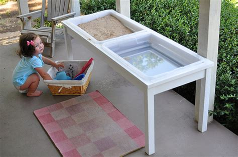 bumble bean diy farmhouse sand and water table