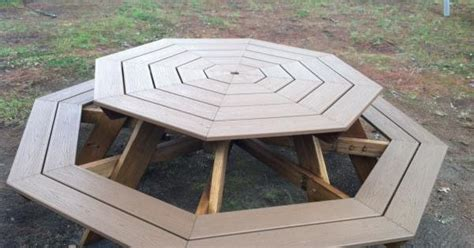 do it yourself picnic table octagon picnic tables do it yourself plans outdoor autos