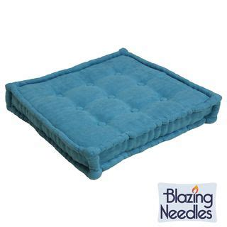 Square Floor Pillow by Blazing Needles 25 Inch Square Corded Floor Pillow With