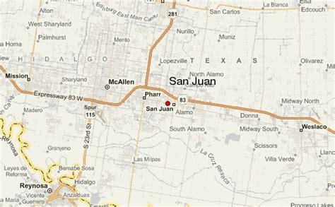 san juan texas map san juan texas location guide