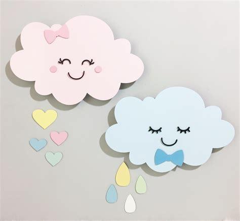 decorar kit de bebe kit 2 nuvens led lumin 225 ria gotas chuva decora 231 227 o quarto