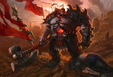 is sion a human or an orc relationship with swain