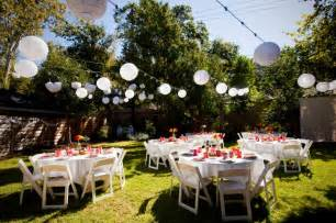 Backyard Wedding Details Planning A Backyard Wedding On A Budget Wedding Planning