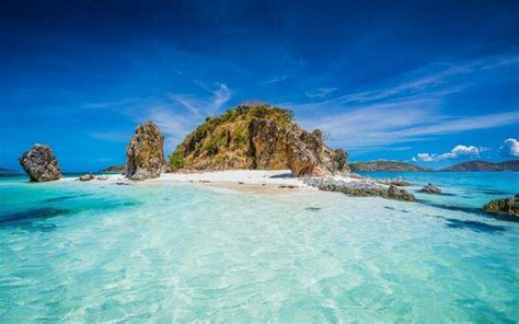 nature landscape island beach philippines tropical
