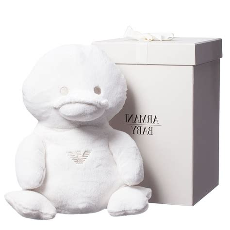 a gift that is soft armani baby large soft duck in a gift box 35cm children boutique