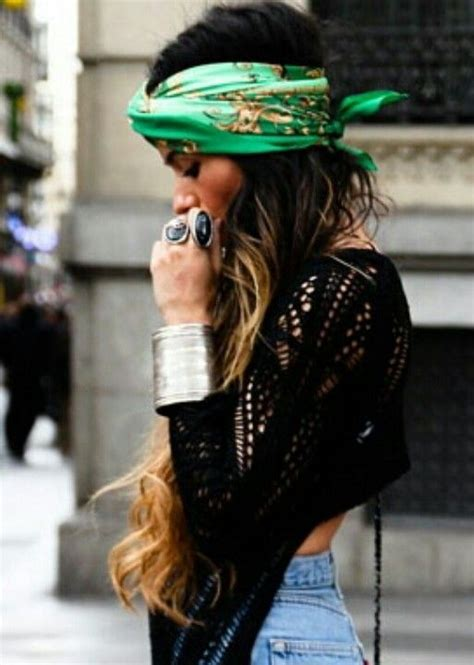 street style hair scarves 65 chic outfits to wear this summer