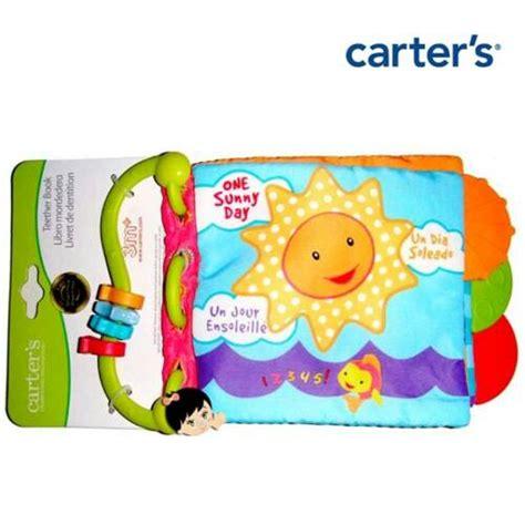 Teether Book Carters mainan gigit buat bayi mainan oliv