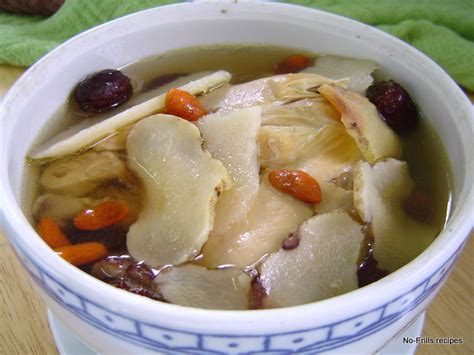 no frills recipes cooking baking excerpts on travel double boiled herbal chicken soup