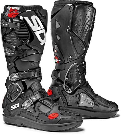 closeout motocross boots sidi crossfire 3 srs stivali motocross moto nero sidi