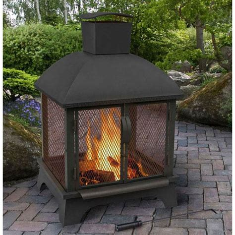 redford outdoor fireplace black landmann fireplace