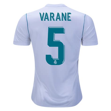 Obral Jersey Go Racing Club Home 17 18 real madrid 17 18 home jersey varane 5 tnt soccer shop