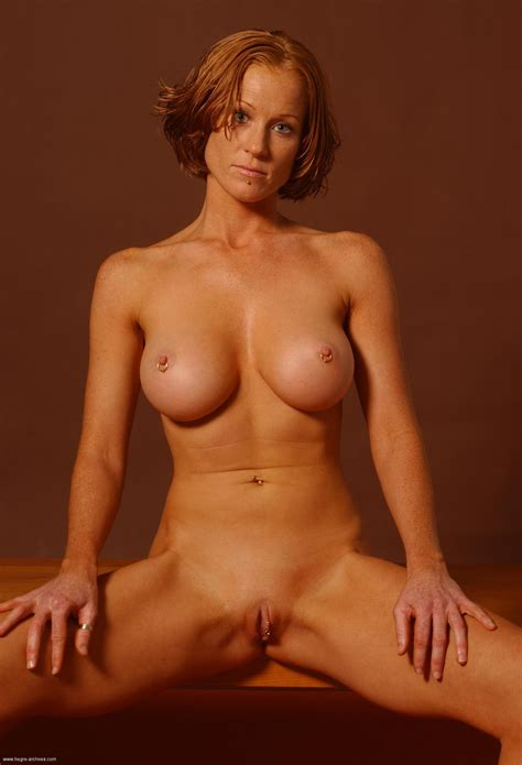 Redhead Milf  In Gallery Siv Incredible Pierced