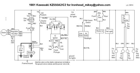 81 kz440 wiring diagram xs650 wiring diagram wiring diagram odicis