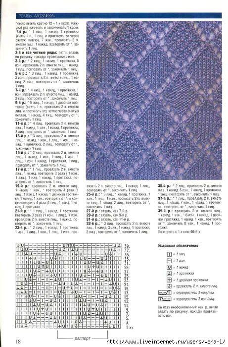 lavender lace схемы