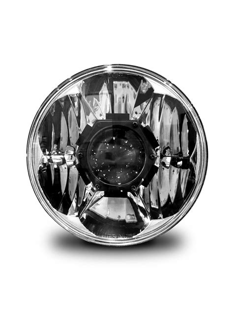 """KC HiLiTES Gravity LED Pro 7"""" Headlights with 4"""" Gravity"""