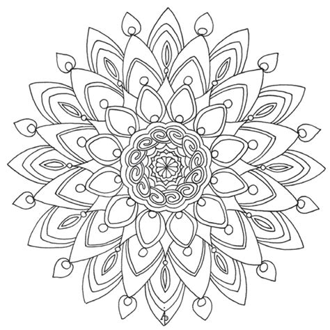 color for calm calm adult page colouring pages