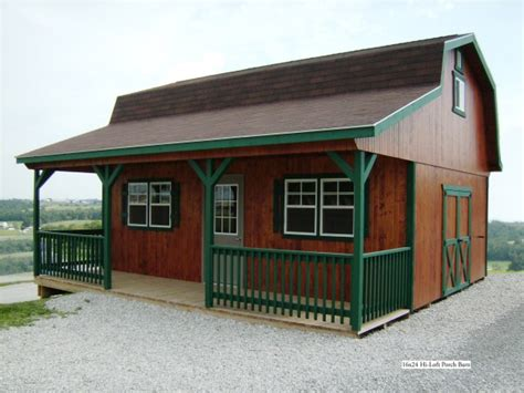Shed With Loft And Porch by Gambrel Roof With Porch Shed Studio Design Gallery