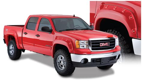 Pocket Gmc bushwacker gmc pocket style fender flare set of 4
