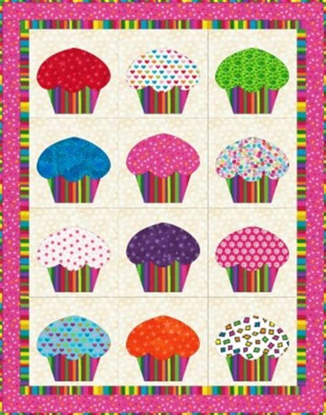 Cupcake Quilt by Cupcake Quilt