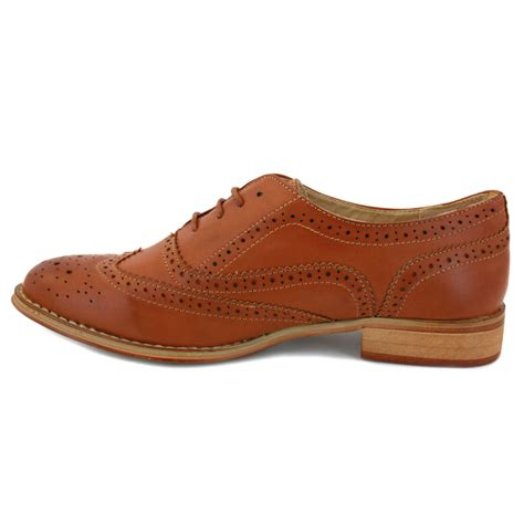 oxford shoes uk phildon ls6820 womens laced synthetic leather oxford shoes