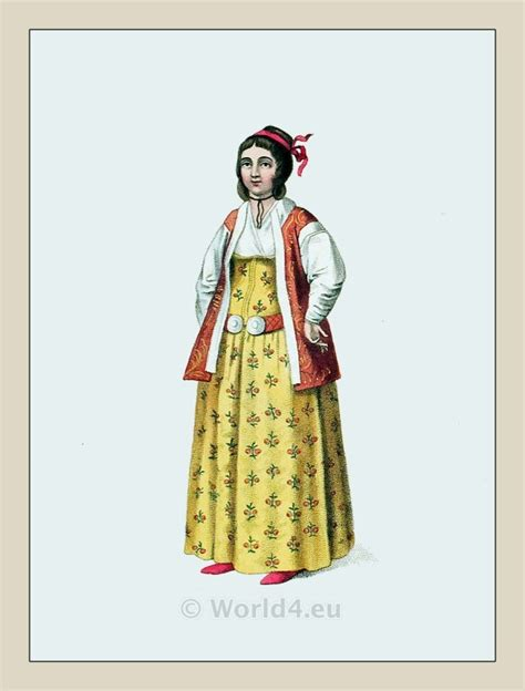 Ottoman Costumes The Costume Of Turkey Ottoman Empire Officials And Ethnic Groups Costume History