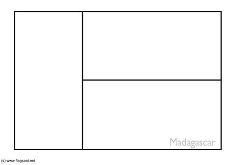 coloring page flag madagascar img 6202