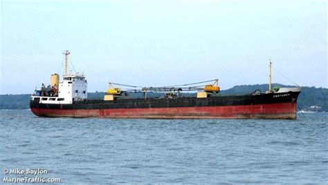 Vessel Wiebke General Cargo Ship - philippine authority requests to siphon from sunken