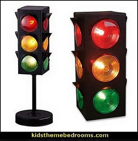 Traffic Light L For Room by Decorating Theme Bedrooms Maries Manor Transportation