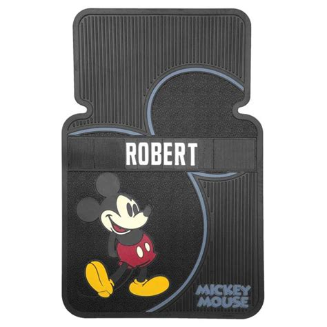 Personalized Mouse Mats by Personalized Mickey Mouse Car Mats Set Of 2 At Wireless