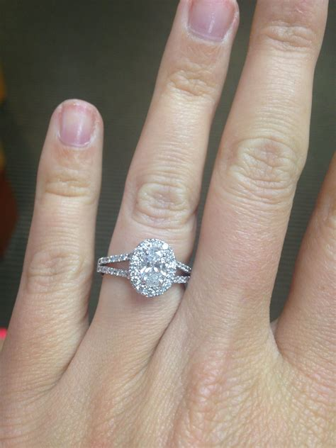1 carat oval 1 carat oval halo band engagement ring the gems