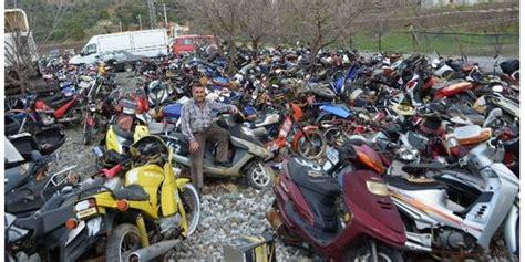 ortacada motosiklet mezarligi olustu mugla haberleri