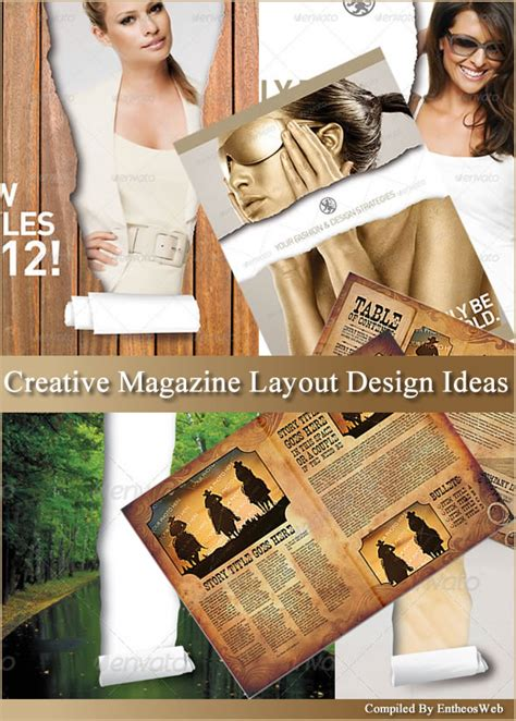 ad design layout ideas 9 best images of creative magazine layout design best