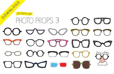 free printable photo booth props template photo booth prop templates free printables