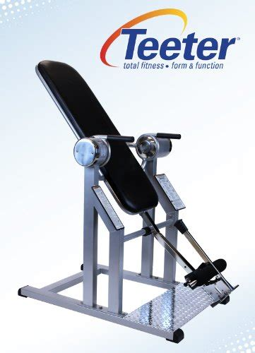teeter power vi inversion table teeter power vi inversion table with gravity lock ratchet
