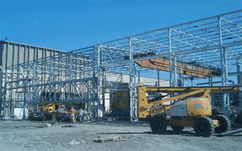 progetto capannone in acciaio entesc srl