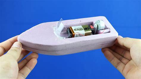 boat simple  battery foam boat mini gear