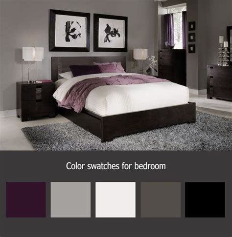 simple purple and grey bedroom ideas greenvirals style pinterest le catalogue d id 233 es