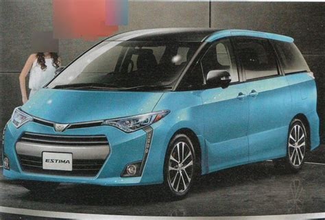 Toyota In All New Toyota Estima To Debut In April 2016 Auto News