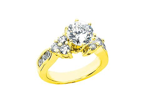 1 75ct cut engagement ring solid 14k